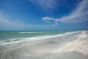 beach sand and sky